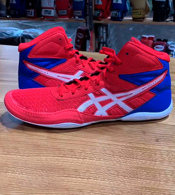 Review of ASICS Kid's Matflex 6 GS Wrestling Shoes