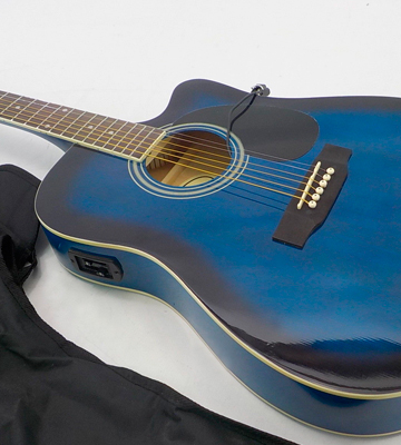Review of Jameson Guitars 979 BLUE CSE Acoustic Electric Guitar
