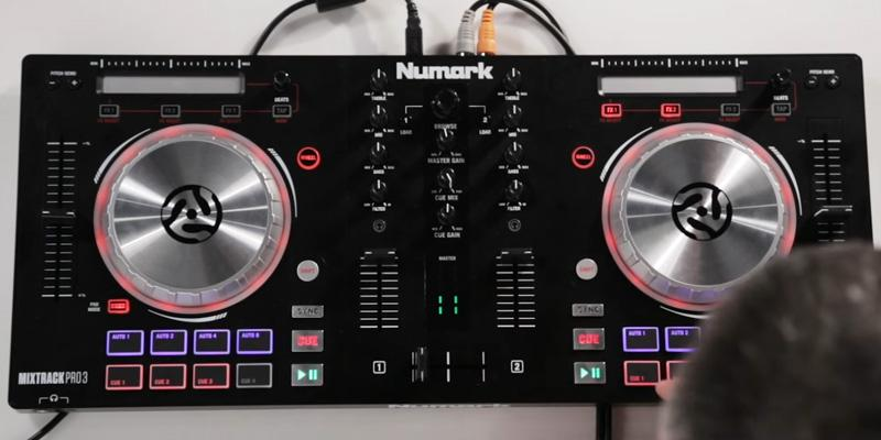 Numark Mixtrack Pro 3 Includes Built-In Sound Card in the use