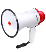 Croove 733 Megaphone Bullhorn With Siren