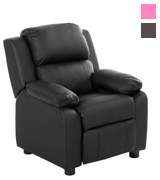 Merax WF036881 Kids Recliner Chair PU Leather