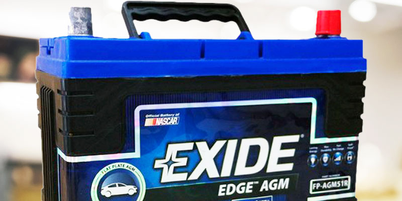 Exide Edge FP-AGM51R AGM Sealed Automotive Battery in the use