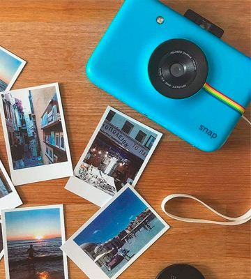 Review of Polaroid Snap Instant Digital Camera (Blue)