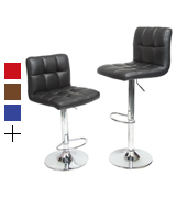 Roundhill Swivel Adjustable Hydraulic Bar Stool