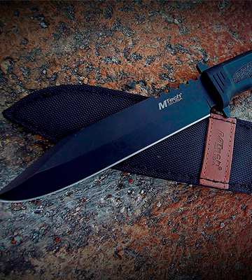 Review of Mtech USA MT-086 Series Fixed Blade Hunting Knife