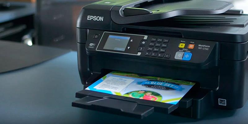 Epson WF-2760 WorkForce All-in-One Wireless Color Printer in the use