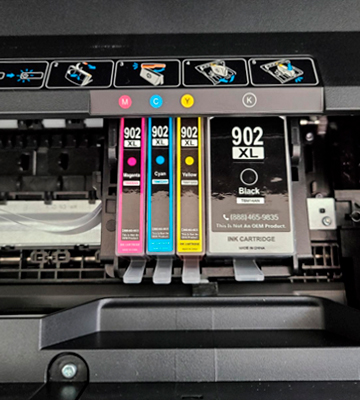 Review of LxTek 902XL Replacement Ink Cartridge for HP Printers