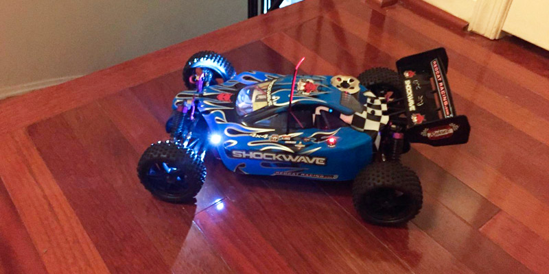 Detailed review of Redcat TORNADOXL-BLUE-94105 Racing Shockwave Nitro Buggy