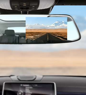 Review of Toguard CE13 Mirror Dash Cam with Rear view Dual Lens