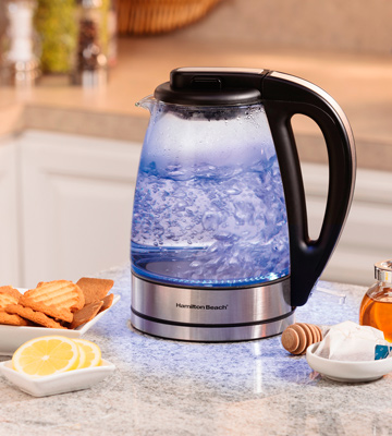 Review of Hamilton Beach 40865 Glass Electric Kettle