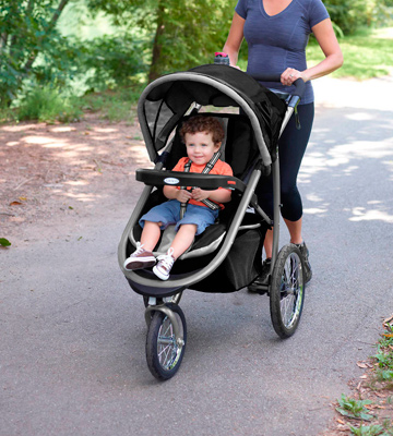 Review of Graco FastAction Fold Jogger Stroller