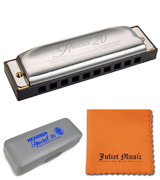 HOHNER 560PBX-C Special 20 Harmonica, 10 Holes Major C