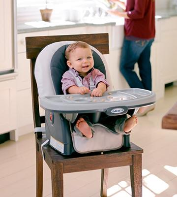 Review of Graco Blossom 4-in-1 Seating System Convertible High Chair