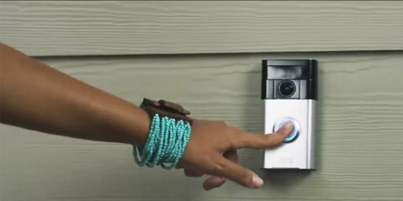 Ring Wi-Fi Enabled Video Doorbell in the use