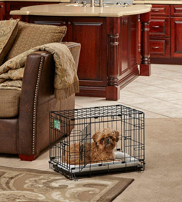 Review of MidWest Homes for Pets Dog Crate iCrate Single Door & Double Door Folding Metal Dog Crates