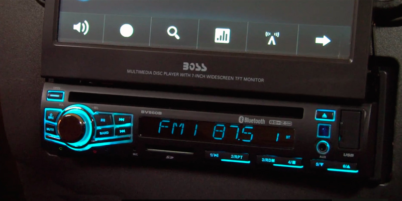 Review of BOSS AUDIO BV9976B Touchscreen DVD Player Receiver