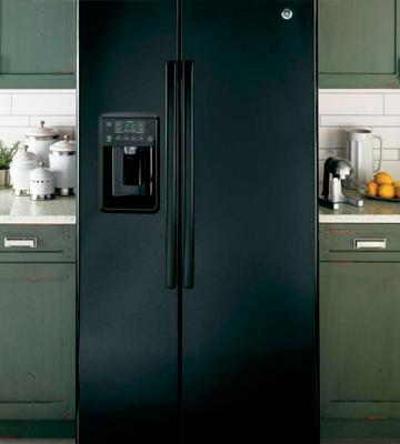 Review of GE 25.4 Cu.Ft. Side-By-Side Fridge, Black
