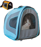 Pet Magasin BlueCarrier001 Soft-Sided Cat Carrier