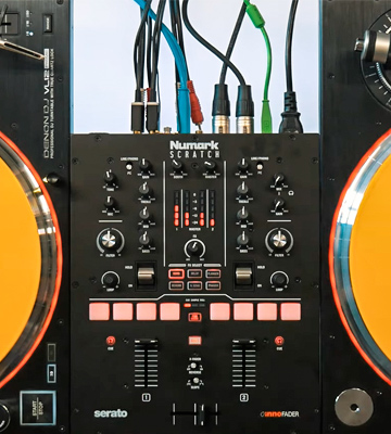Review of Numark Scratch 2-Channel DJ Scratch Mixer for Serato DJ Pro (included)