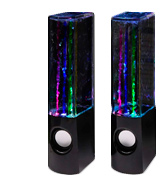 Aolyty (H2OSpeakers_Black16) Colorful Water Speaker