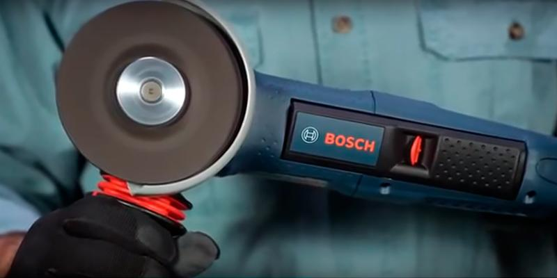 Bosch AG50-11VSPD Angle Grinder in the use