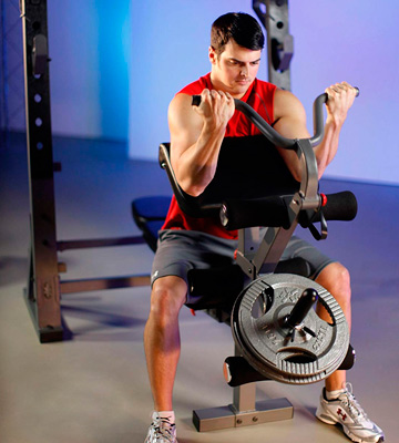 Review of XMark Fitness XM-4424.1 Olympic Weight Bench with Leg and Preacher Curl Attachment
