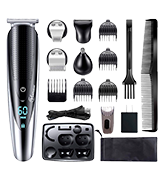 Hatteker 5 In 1 Hair Clipper Beard Trimmer Grooming kit