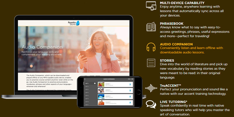 Rosetta Stone Learn English (American) Online in the use