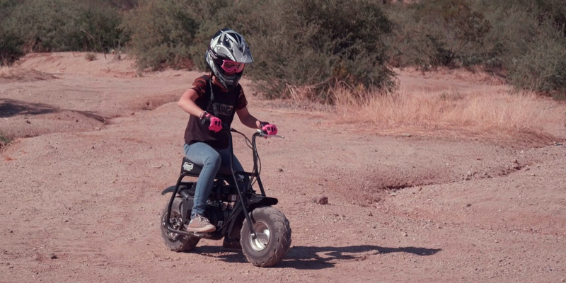 Review of Coleman Powersports CT100U-B Gas Powered Trail Mini-Bike