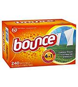 Bounce Outdoor Fresh Dryer Sheets and Fabric Softener