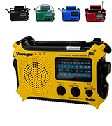 Kaito KA500YL 5-way Powered Solar Power,Dynamo Crank, Wind Up Emergency AM/FM/SW/NOAA Weather Alert Radio