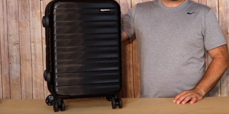Review of AmazonBasics N989 Hardside Spinner Luggage