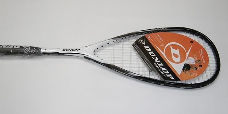 Blaze Pro Squash Racquet in the use