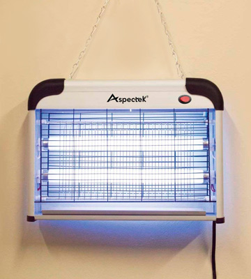 Review of Aspectek HR292-2 Electronic Bug Zapper