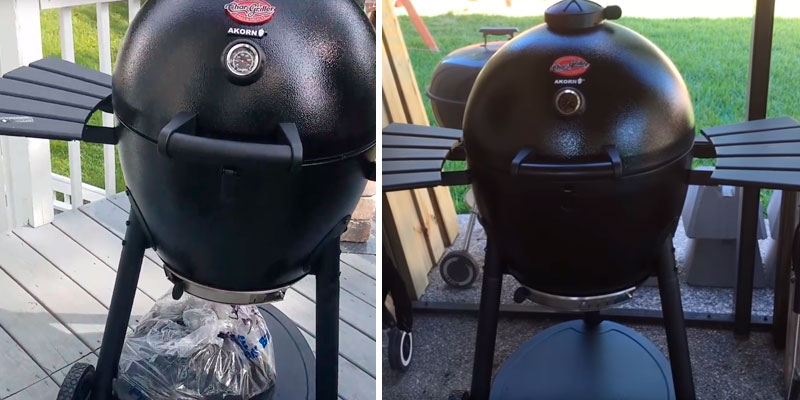 Review of Char-Griller E16620 Akorn Kamado Kooker Charcoal Barbecue Grill and Smoker