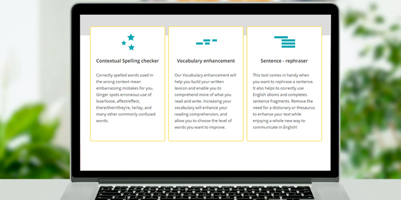 Detailed review of Ginger Software English Grammar and Writing App
