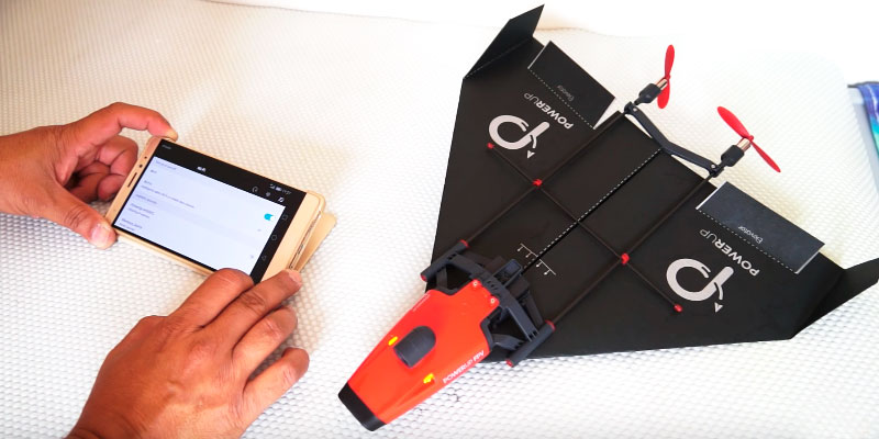 PowerUp FPV Paper Airplane VR Drone Model Kit application