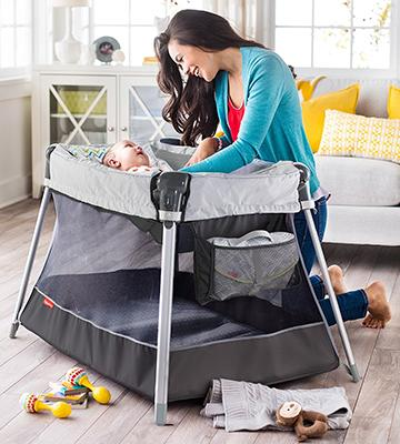 Review of Fisher-Price Ultra-Lite Day & Night Play Yard