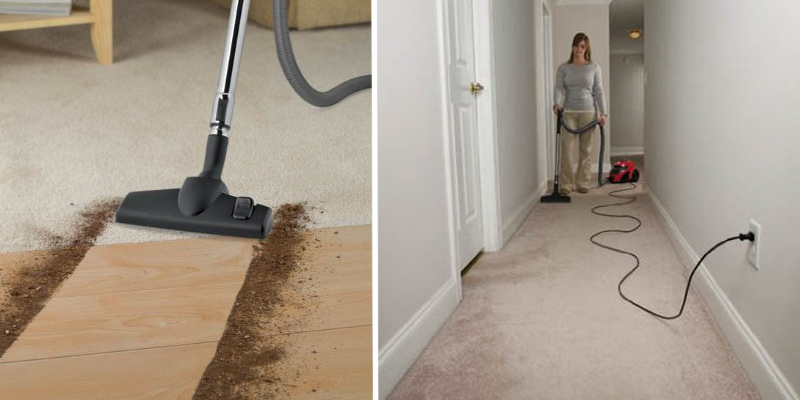 Dirt Devil SD40010 Vacuum Cleaner in the use