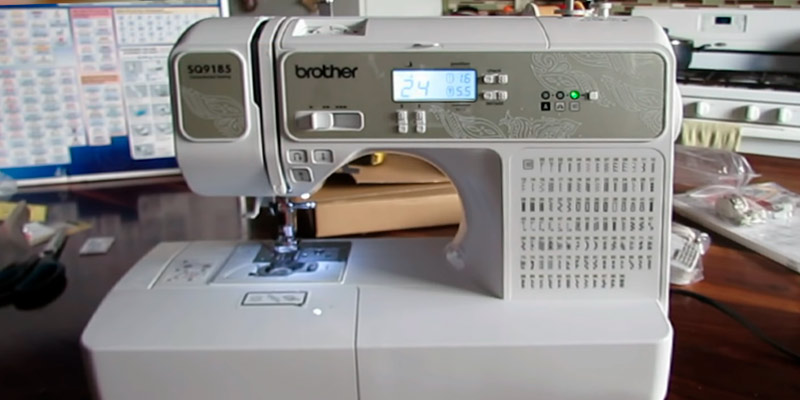 Review of Brother RSQ9185 Refurbished computerized sewing and quilting