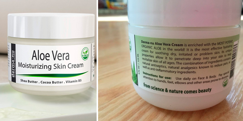Review of Derma-nu Miracle Skin Remedies Aloe Vera Moisturizing Skin Cream Best Remedy Skin Repair Cream by Derma-nu