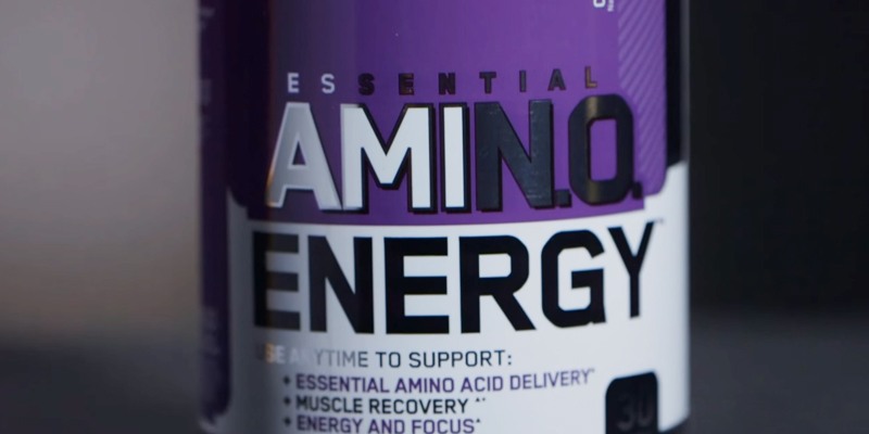 Review of Optimum Nutrition 1043712 Amino Energy, Concord Grape, Preworkout and Essential Amino Acids