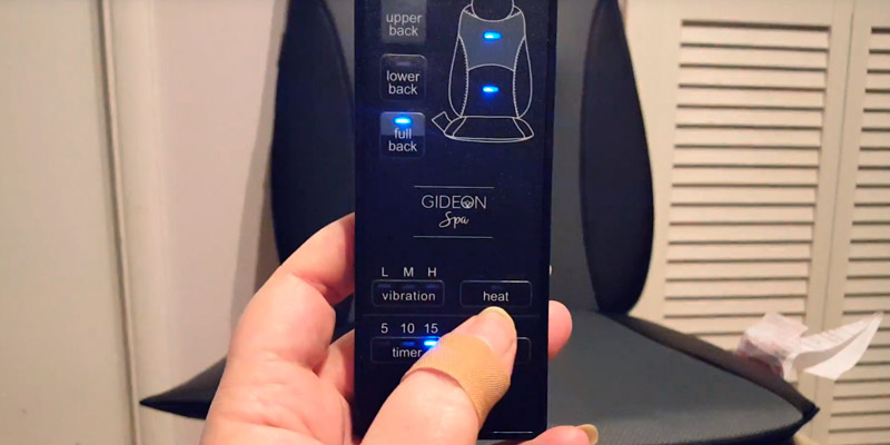 Detailed review of Gideon™ Car Vibrating Massager for Back, Shoulder and Thighs