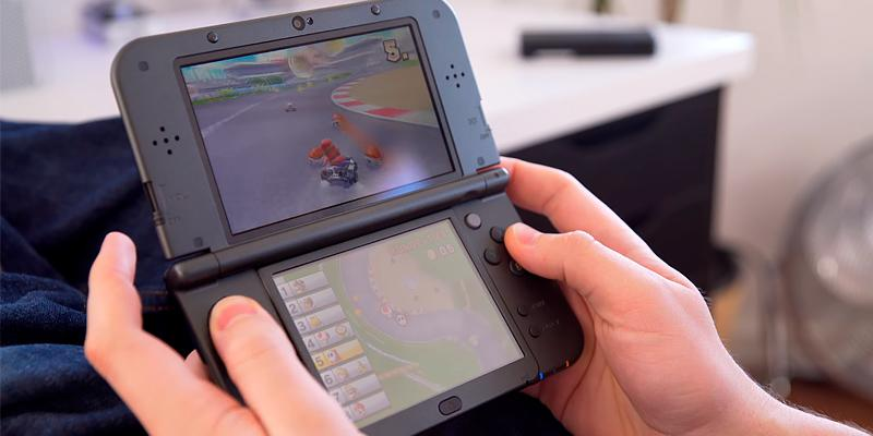 Nintendo 3DS XL Handheld Console in the use