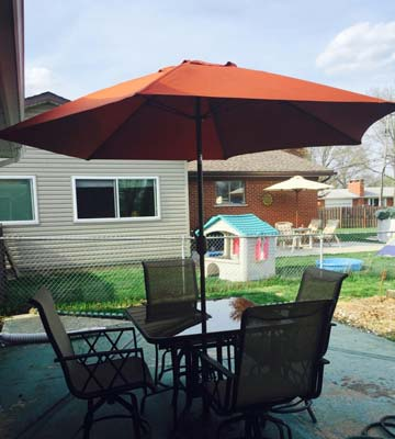 5 best patio umbrellas reviews of 2018 bestadvisor com