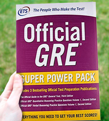 Review of Educational Testing Service Official GRE Super Power Pack