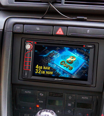 Review of Pumpkin Double Din Android 9.0 Car Stereo