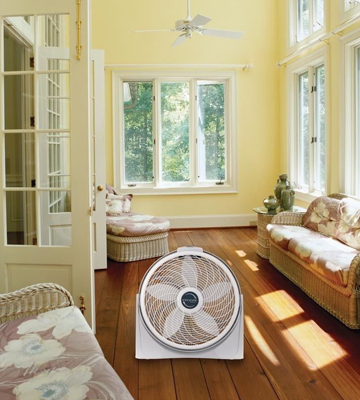 Review of Lasko 3520 Cyclone Pivoting Floor Fan
