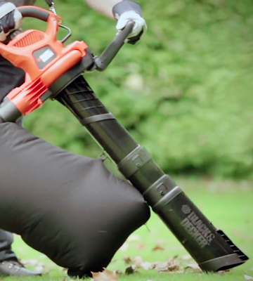 Review of BLACK + DECKER BV6600 Electric Leaf Blower, Leaf Vacuum