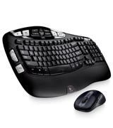 Logitech MK550 Wireless Wave Keyboard